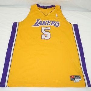 Robert Horry Los Angeles Lakers NBA Jersey LA Nike